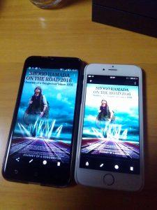 左ZenFone3:右iPhone6